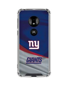 New York Giants Moto G7 Play Clear Case
