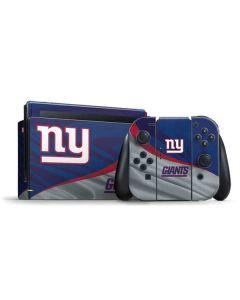 New York Giants Nintendo Switch Bundle Skin