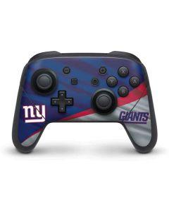 New York Giants Nintendo Switch Pro Controller Skin