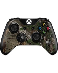 New York Giants Realtree Xtra Green Camo Xbox One Controller Skin