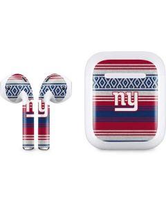 New York Giants Trailblazer Apple AirPods Skin