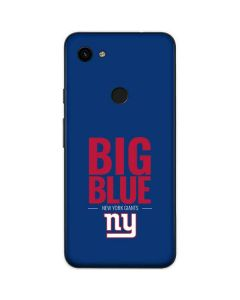 New York Giants Team Motto Google Pixel 3a Skin