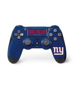 New York Giants Team Motto PS4 Pro/Slim Controller Skin