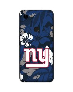 New York Giants Tropical Print Google Pixel 3a Skin