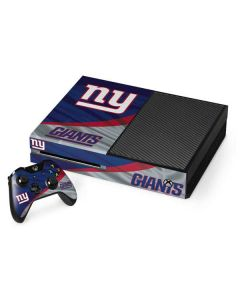 New York Giants Xbox One Console and Controller Bundle Skin