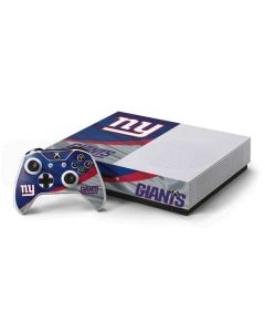New York Giants Xbox One S Console and Controller Bundle Skin