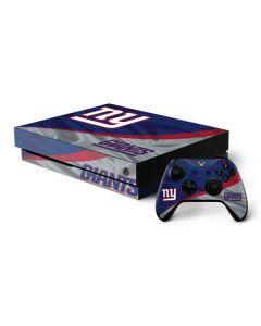 New York Giants Xbox One X Bundle Skin