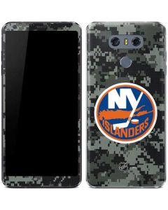 New York Islanders Camo LG G6 Skin