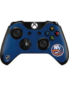 New York Islanders Distressed Xbox One Controller Skin