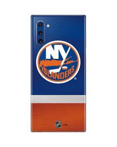 New York Islanders Jersey Galaxy Note 10 Skin