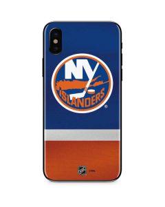 New York Islanders Jersey iPhone XS Skin