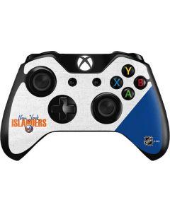 New York Islanders Script Xbox One Controller Skin