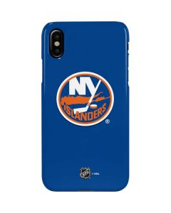 New York Islanders Solid Background iPhone XS Max Lite Case