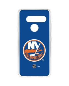 New York Islanders Solid Background LG V40 ThinQ Clear Case