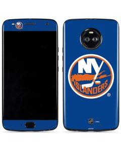New York Islanders Solid Background Moto X4 Skin
