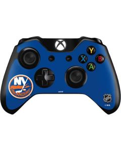 New York Islanders Solid Background Xbox One Controller Skin