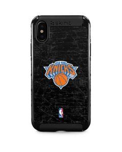 New York Knicks Black Secondary Logo iPhone X Cargo Case