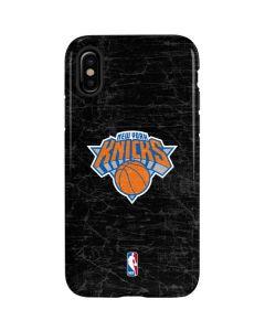 New York Knicks Black Secondary Logo iPhone XS Pro Case