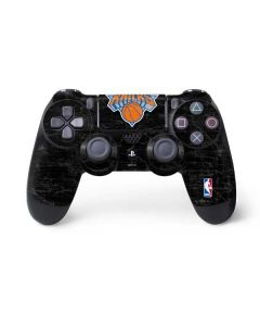 New York Knicks Black Secondary Logo PS4 Controller Skin