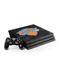 New York Knicks Black Secondary Logo PS4 Pro Bundle Skin