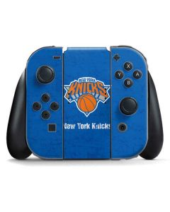 New York Knicks Blue Primary Logo Nintendo Switch Joy Con Controller Skin