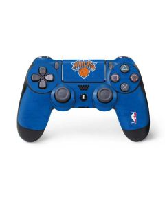 New York Knicks Blue Primary Logo PS4 Controller Skin