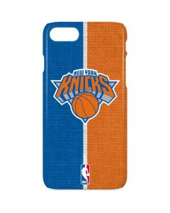 New York Knicks Canvas iPhone 8 Lite Case