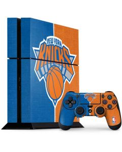 New York Knicks Canvas PS4 Console and Controller Bundle Skin
