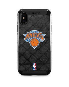 New York Knicks Dark Rust iPhone XS Max Cargo Case