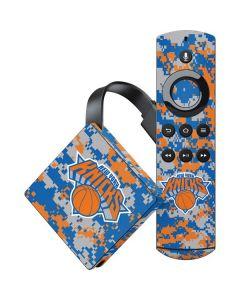 New York Knicks Digi Camo Amazon Fire TV Skin