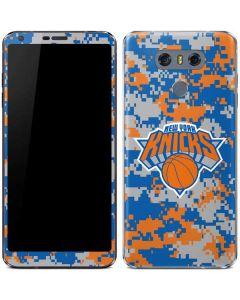 New York Knicks Digi Camo LG G6 Skin