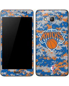New York Knicks Digi Camo Galaxy Grand Prime Skin