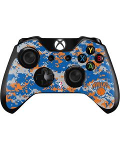 New York Knicks Digi Camo Xbox One Controller Skin