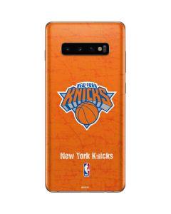 New York Knicks Orange Primary Logo Galaxy S10 Plus Skin