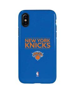 New York Knicks Standard - Blue iPhone X Pro Case