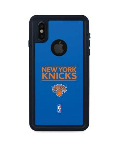 New York Knicks Standard - Blue iPhone X Waterproof Case