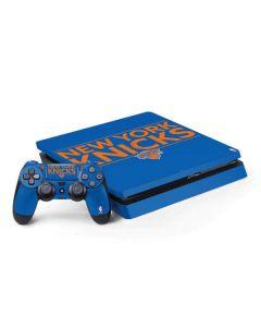 New York Knicks Standard - Blue PS4 Slim Bundle Skin