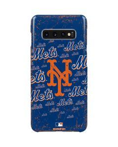 New York Mets - Cap Logo Blast Galaxy S10 Plus Lite Case