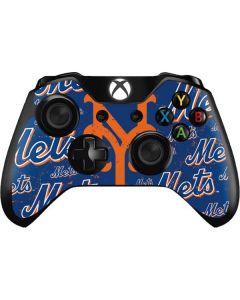New York Mets - Cap Logo Blast Xbox One Controller Skin