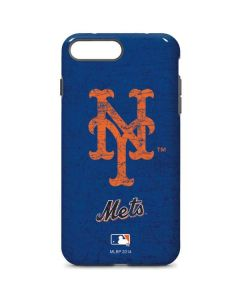 New York Mets - Solid Distressed iPhone 7 Plus Pro Case