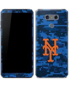 New York Mets Digi Camo LG G6 Skin