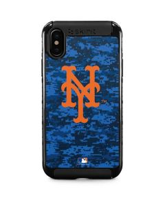 New York Mets Digi Camo iPhone X Cargo Case