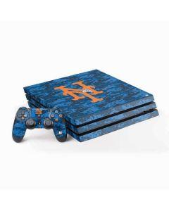 New York Mets Digi Camo PS4 Pro Bundle Skin