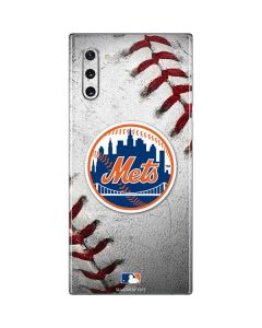 New York Mets Game Ball Galaxy Note 10 Skin