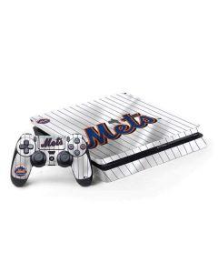 New York Mets Home Jersey PS4 Slim Bundle Skin