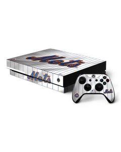 New York Mets Home Jersey Xbox One X Bundle Skin