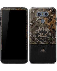 New York Mets Realtree Xtra Camo LG G6 Skin