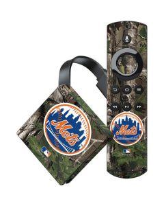 New York Mets Realtree Xtra Green Camo Amazon Fire TV Skin