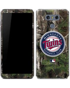 Minnesota Twins Realtree Xtra Green Camo LG G6 Skin