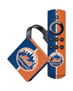 New York Mets Split Amazon Fire TV Skin